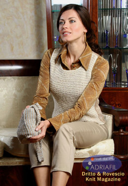 Cervinia Outfit in Adriafil Mirage and Odeon Lame - Downloadable PDF