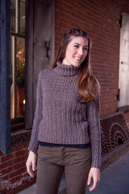 Gertie Sweater in Berroco Remix - PDF336-6