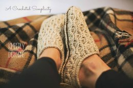 Winter Waves Slippers