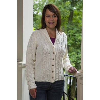 Cable Panel Cardigan - #188