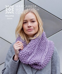 Margareta Moss Cowl in MillaMia Naturally Soft Super Chunky - Downloadable PDF
