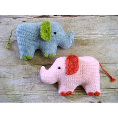 Elephant Knit Pattern Knitting Pattern By Amy Gaines