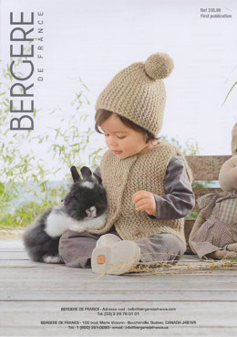 Gilet & Hat in Bergere de France Duvetine - 33599