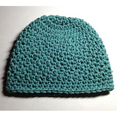 Griddle Stitch Baby Beanie Hat