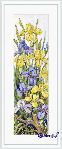 Merejka Frogs in the Flowers Cross Stitch Kit - Multi