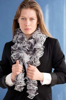 2-Ball Scarf in Filatura Di Crosa Moda
