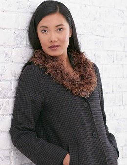 Girl's Got Moxie Arm Knit Cowl in Patons Classic Wool Worsted and Moxie