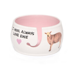 Lenny Mud Always Love Ewe Yarn Bowl