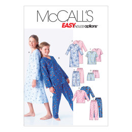 McCall's Boys'/Girls' Shirt, Tops, Shorts and Pants M6227 - Sewing Pattern