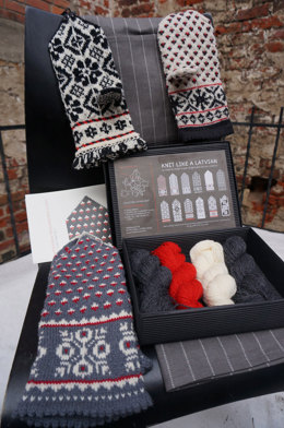 Knit Like a Latvian Knitting Kit - Latvian Grey