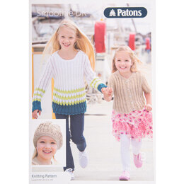 Sweater, Cardigan and Hat in Patons Smoothie DK - Leaflet