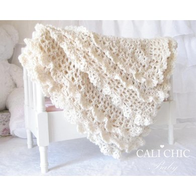 Victorian Baby Blanket 89 Crochet Pattern By Cali Chic Baby