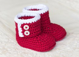 Santa Baby Ankle Booties
