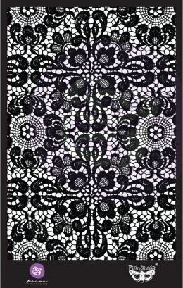 "Prima Marketing Stencil 6""X9"" - Ornate Lace"