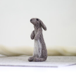 Hawthorn Handmade Rabbit Needle Felting Kit