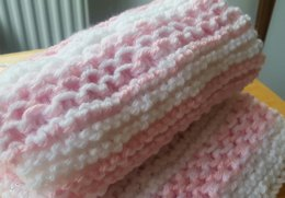 Chinese Wave Baby Blanket