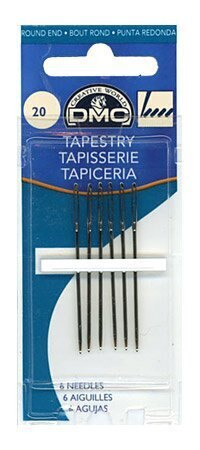 DMC Size 20 Tapestry Needles (6)