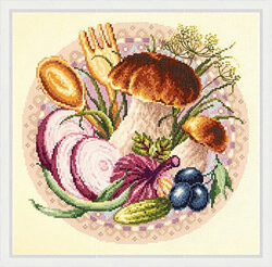 Magic Needle Favourite Snacks Cross Stitch Kit
