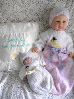 33. Cocoon Set for micro preemie-0/3 months