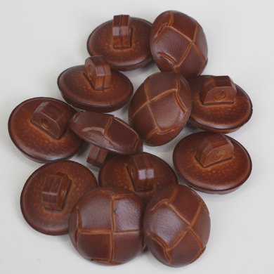 Leather Shank Buttons
