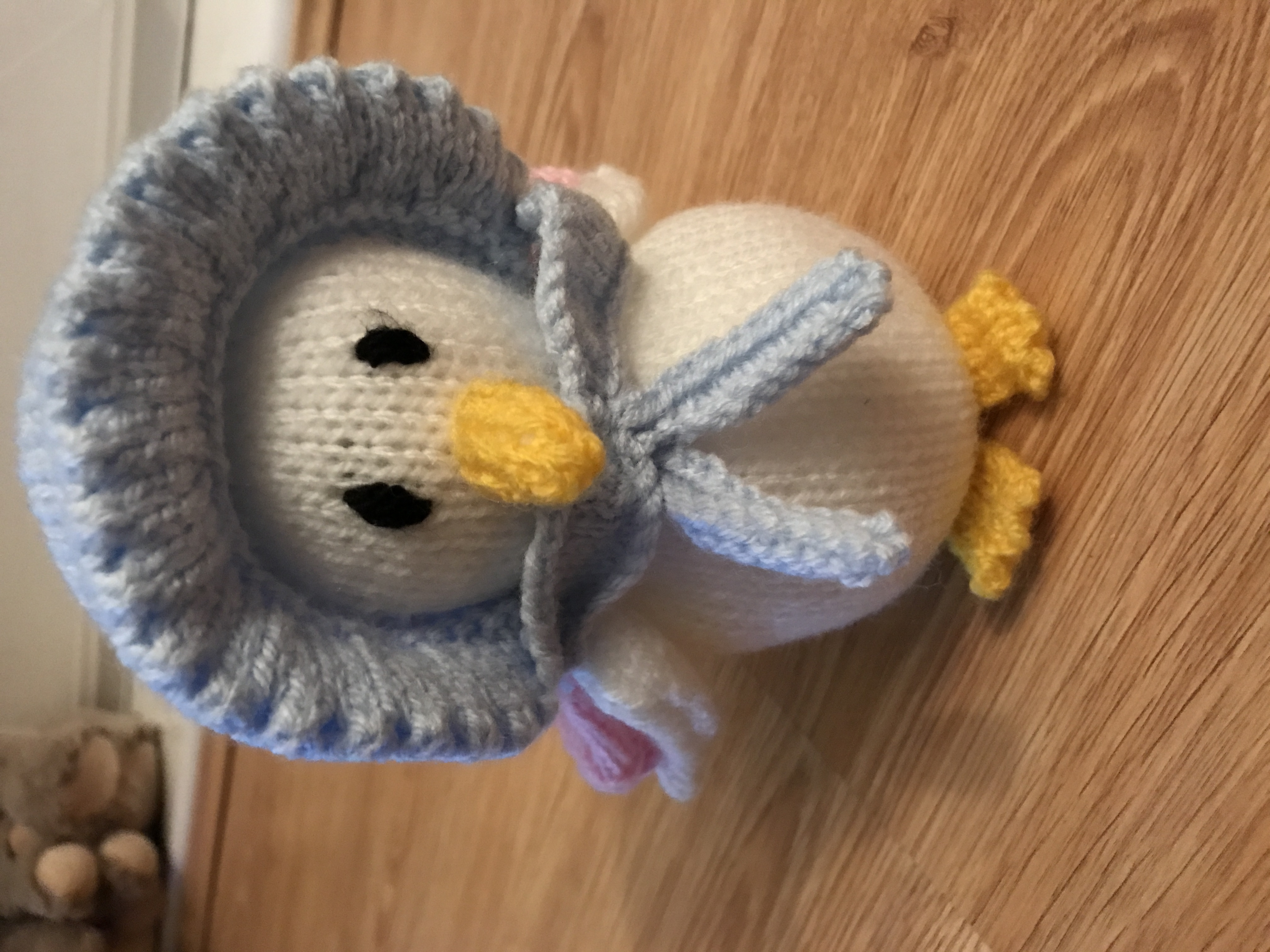 Jemima Puddle Duck knitting project by Luanne G LoveKnitting