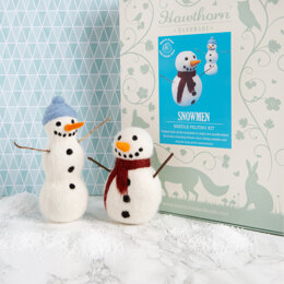 Hawthorn Handmade Snowmen Needle Felting Kit