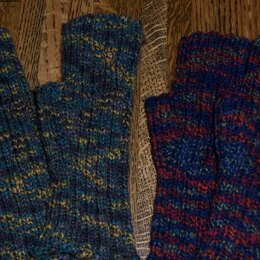 Cobblestone Fingerless Mitts