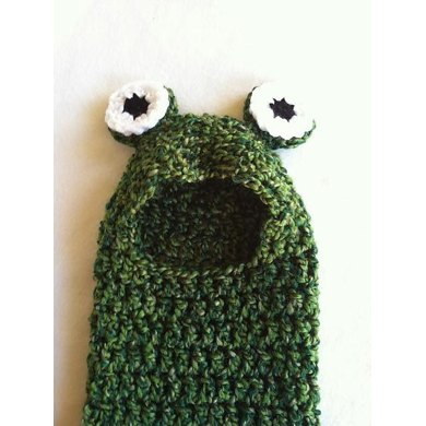 Frog Hooded Newborn Cocoon