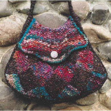 Entrelac Purse Knitting Pattern By Oat Couture