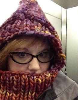 Super Cozy Hooded Cowl