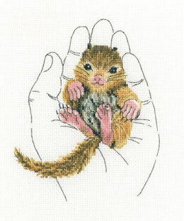 RTO Warm in Palms Mouse Cross Stitch Kit