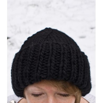 Chunky Ribbed Hat Knitting Pattern By Claire Montgomerie Knitting