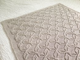 Mariele's Cable Lace Blanket