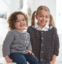 Big Girl Cardigan in Caron United - Downloadable PDF