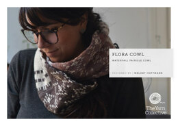 Flora Cowl in The Yarn Collective Fleurville 4 Ply - Downloadable PDF