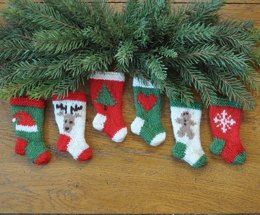 Classic Christmas Stocking Ornament Pattern