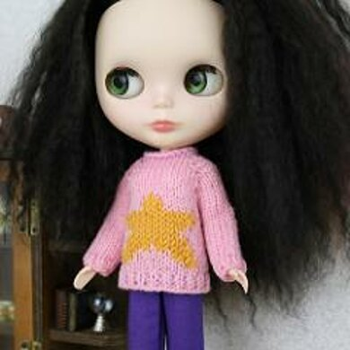 Star Points Sweater for Blythe