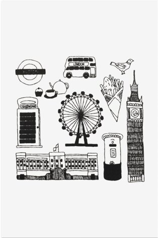 London in DMC - PAT0345 - Downloadable PDF