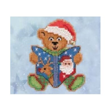 Mill Hill Teddy's Tale Cross Stitch Kit