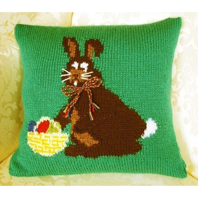 Easter Bunny Cushion Cover