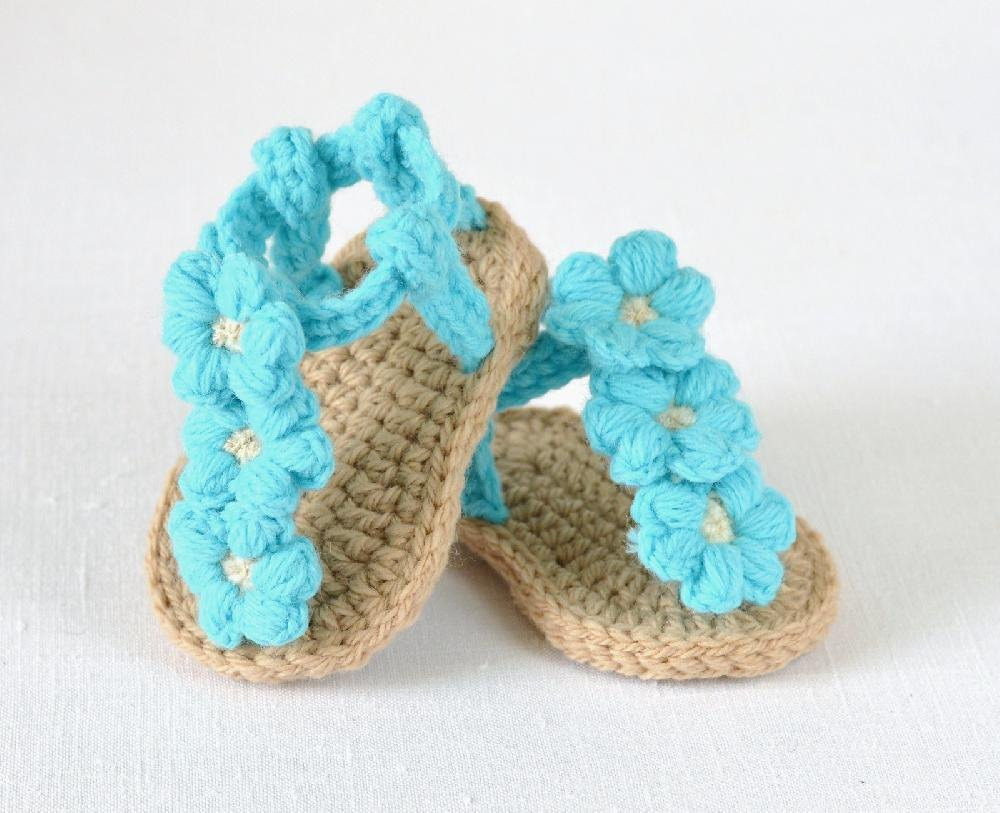 Free Knitting Pattern For Baby Shoes
