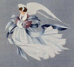 Lavender And Lace LL033 - Angel of Winter Chart - 941674 -  Leaflet