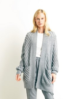 Cardigan in Lamana Catalina - M0417