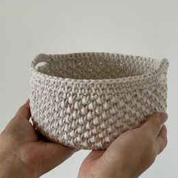 Pebbled Storage Basket