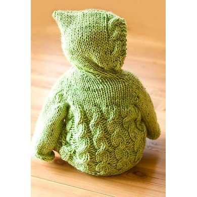 Fish Creek Hooded Baby Sweater