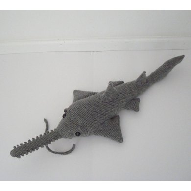 Saw Shark Sawfish Amigurumi Crochet Pattern