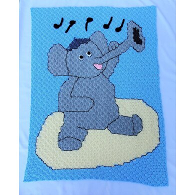 Elephant Chevron Baby c2c | Elephant cross stitch, Cross stitch ... | 390x390