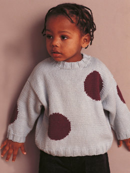 Toby Sweater in Rowan Wool Cotton