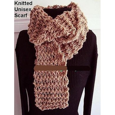 UNISEX KNITTED SCARF