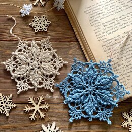 Inscribed Snowflake